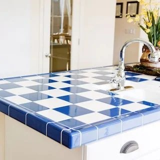 of tile for kitchen countertops
