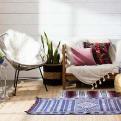 White Bohemian Hanging Chair Quality Directors Chairs Boho Chic Furniture Decor Ideas You Ll Love Overstock Com