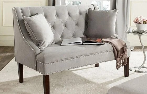 glam sofa set 7ft cover dazzling decorating ideas for your home overstock com tufted grey velvet room