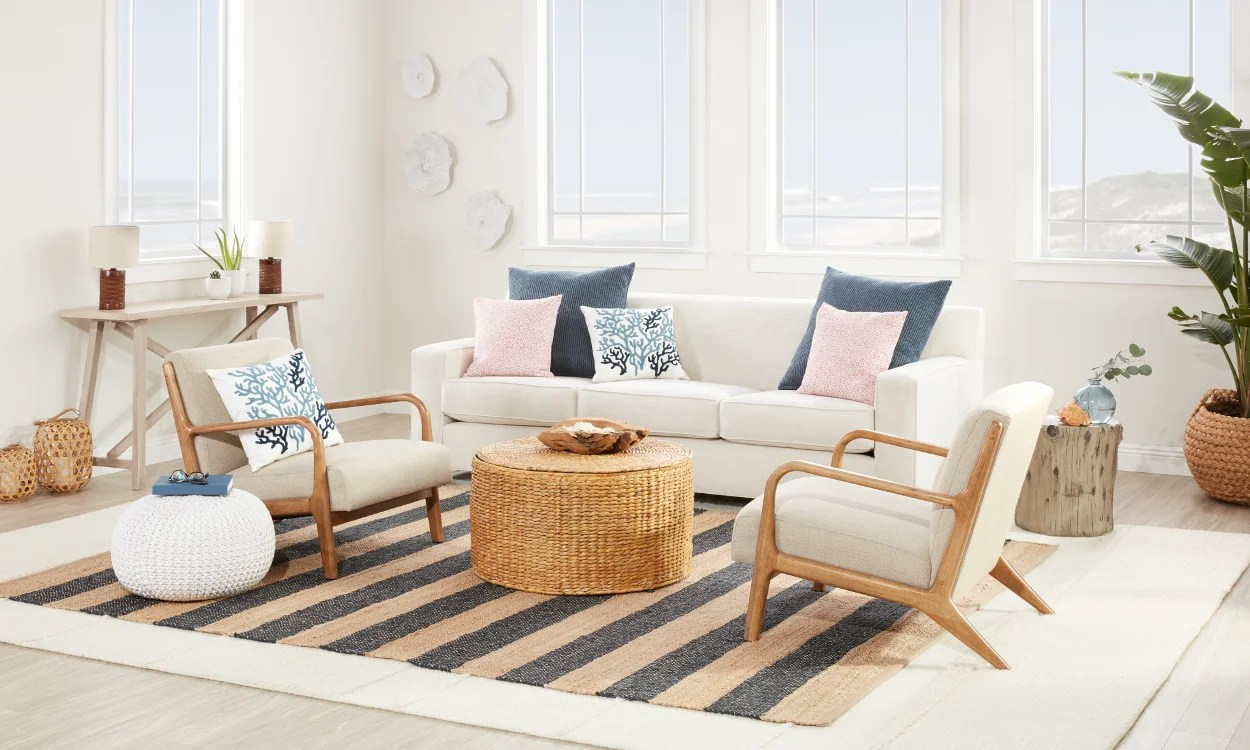coastal living room decor images home design beautiful furniture ideas overstock com