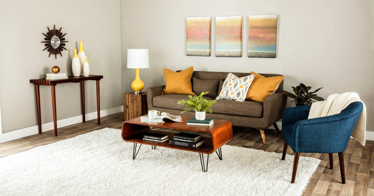 modern table for living room curtain rod mid century furniture and decor ideas overstock com
