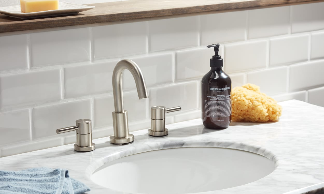 how to install a tile backsplash in the