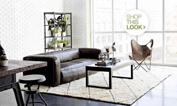 industrial design living room furniture Industrial Furniture & Decor Ideas for Your Home | Overstock.com