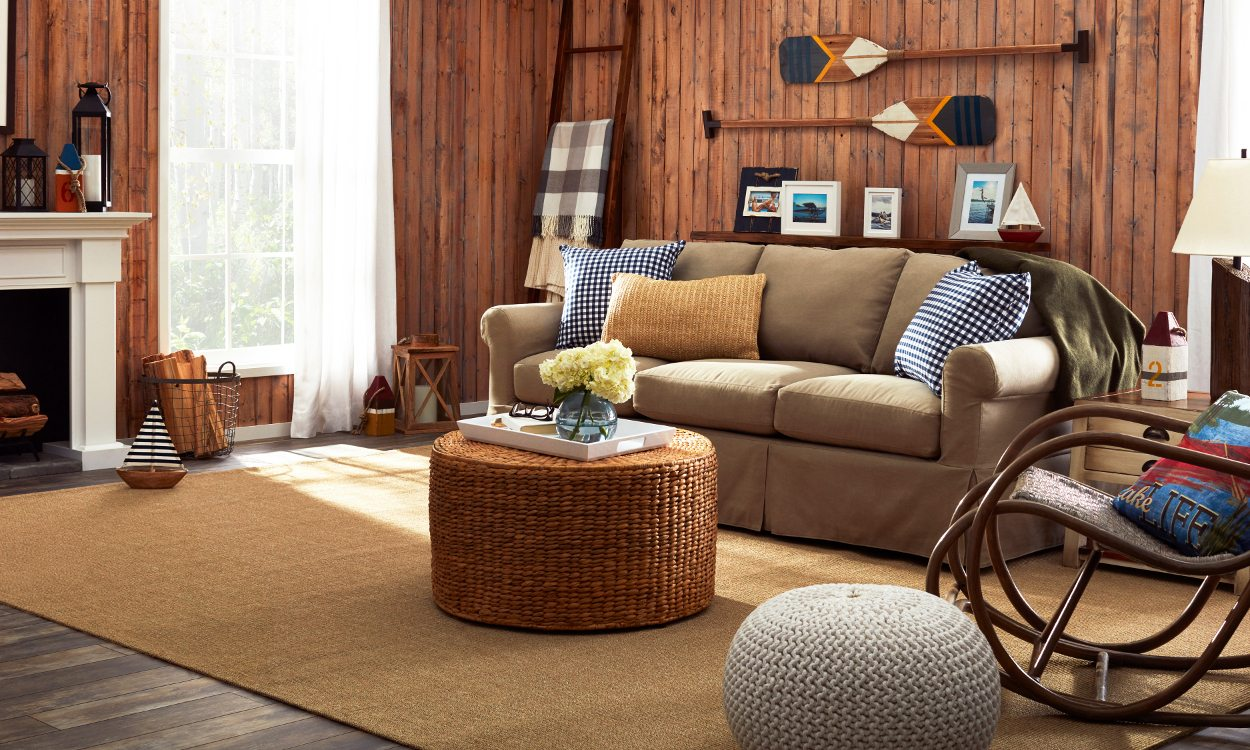 lake house living room photos walmart rugs for decor a cottage style family favorite
