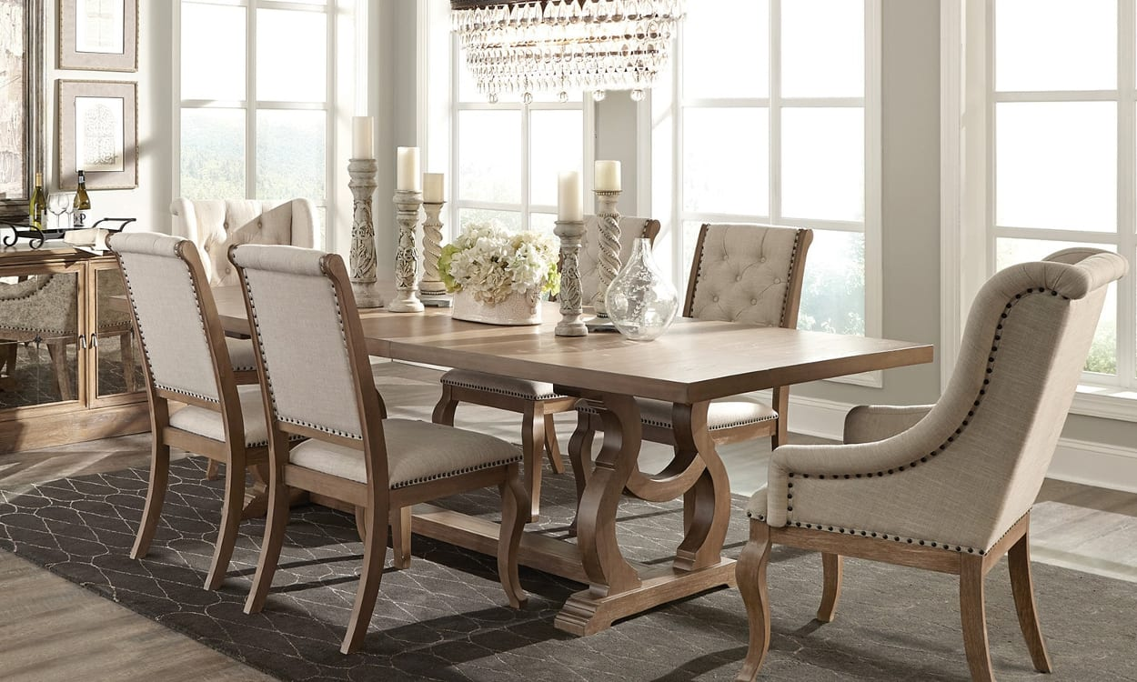 how to make mismatched living room furniture work round table buy the best dining overstock com tips ideas