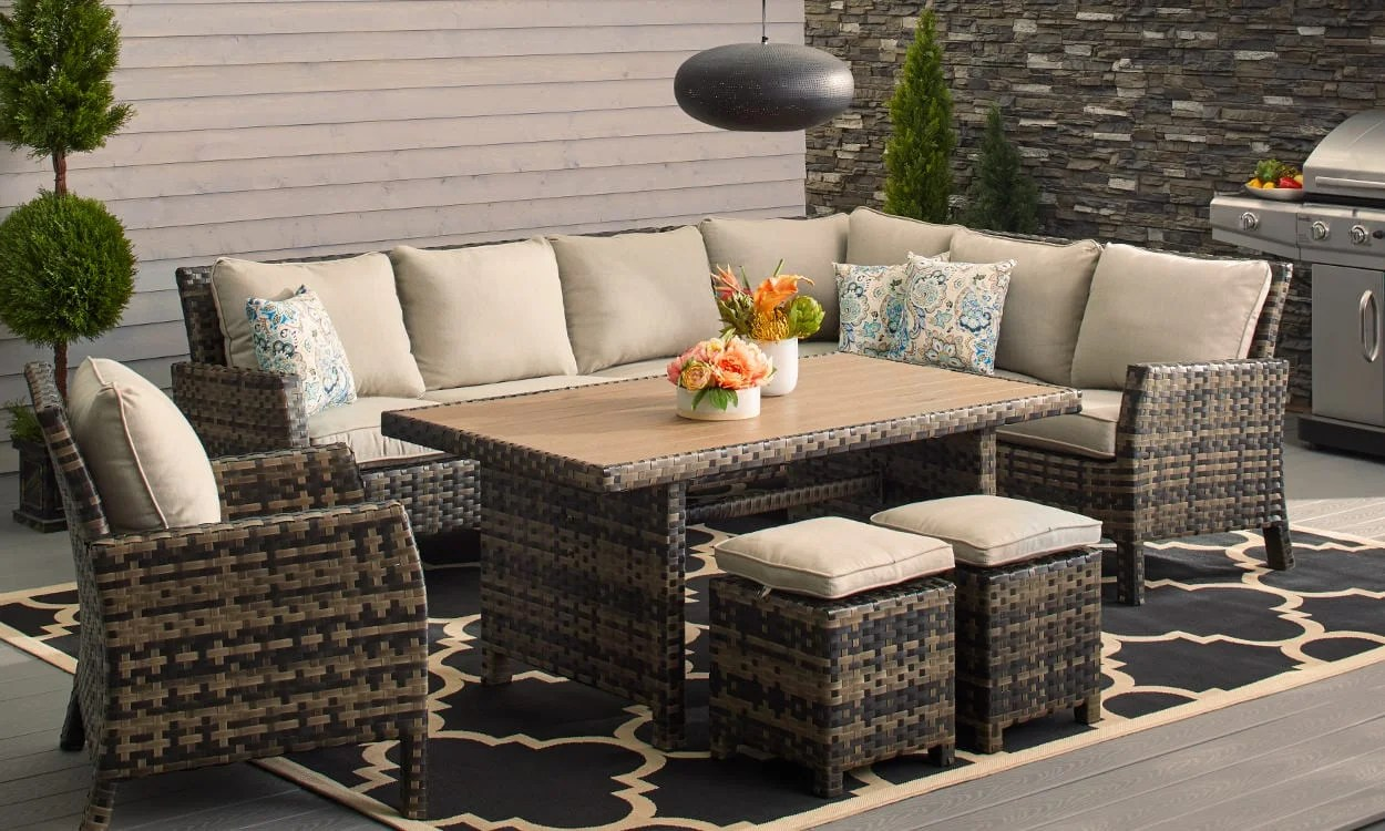 small outdoor patio table and chairs customized directors chair how to choose furniture for spaces overstock com
