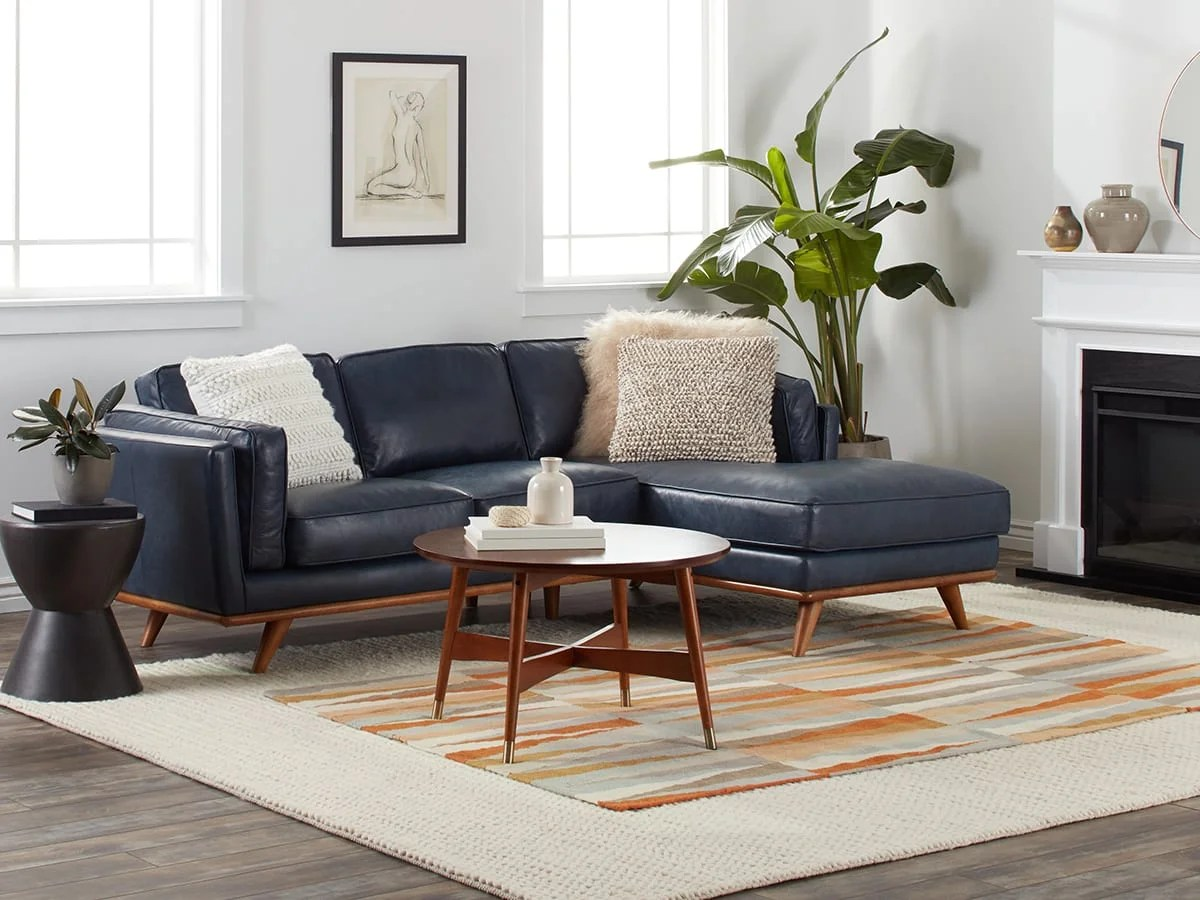 modern living rooms ideas small room 20 mid century overstock com leather upholstery