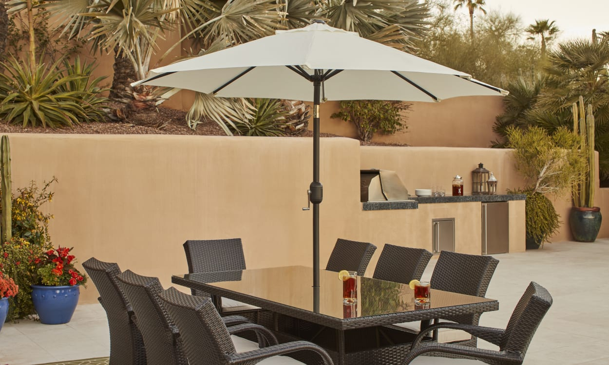 choose the best patio umbrella with
