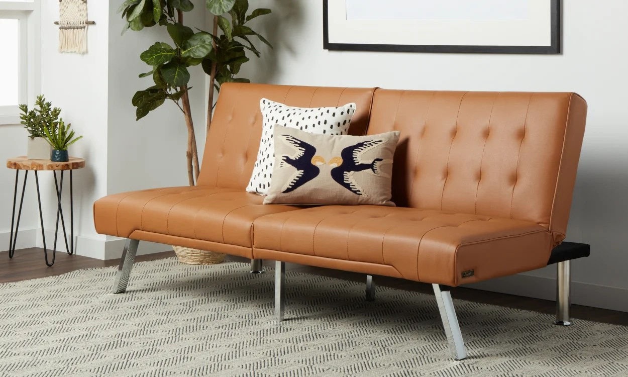 small sectional living room furniture design my sofas couches for spaces overstock com tan leather futon in a space