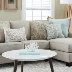 Small Sectional Living Room Furniture Grey Accent Wall In Sofas Couches For Spaces Overstock Com