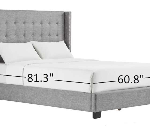 What Are The Dimensions Of A Queen Size Bed