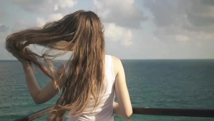 שיער בים