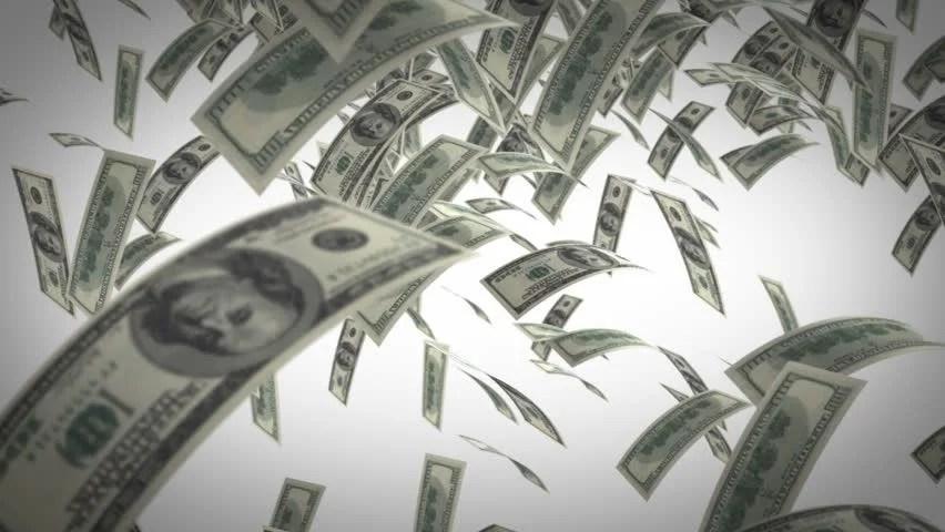 3d Animation Gif Wallpaper Money Rain Stock Footage Video 1329529 Shutterstock