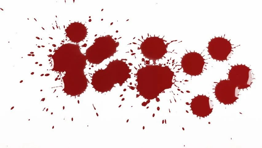 Fall Wallpaper Drawing Blood Drops Multiple Versions Stock Footage Video 100