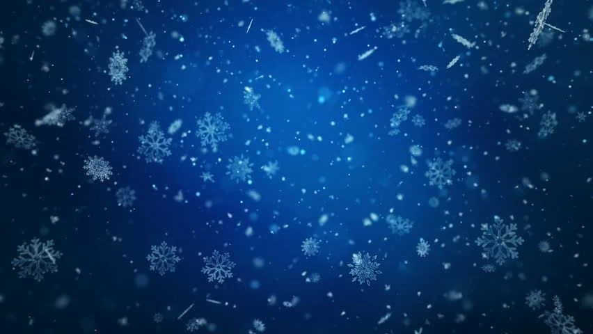 Falling Snow Wallpaper Download Winter Snow Blizzard Background Stock Footage Video