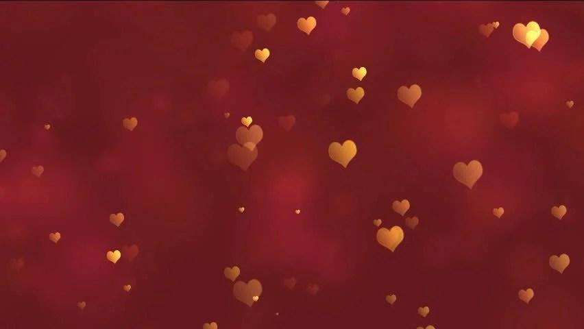 heart bokeh lights animation