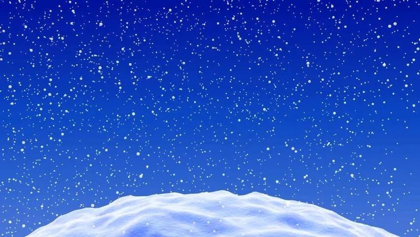 Free Animated Desktop Wallpaper Like Snow Falling On Background Cartoon Winter Snow Scene Looping Background Stock Footage