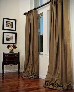 Extra Long Curtain Tension Rod BestCurtains