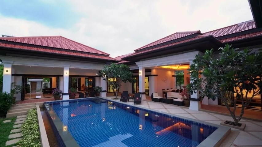 Holiday Rental Pool Villa Phuket Stock Footage Video 100 Royalty Free 1035327902 Shutterstock
