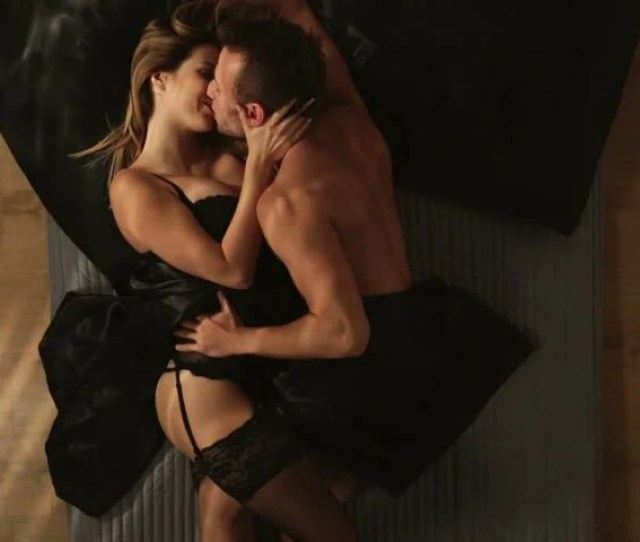 Video Of Erotic Couple Of Lovers During Foreplay In Bed