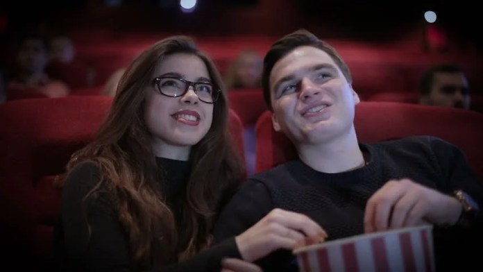 Image result for couple on cinema