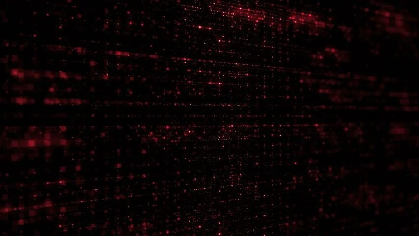 Matrix Falling Code Wallpaper Red Matrix Code Loop Stock Footage Video 5042666