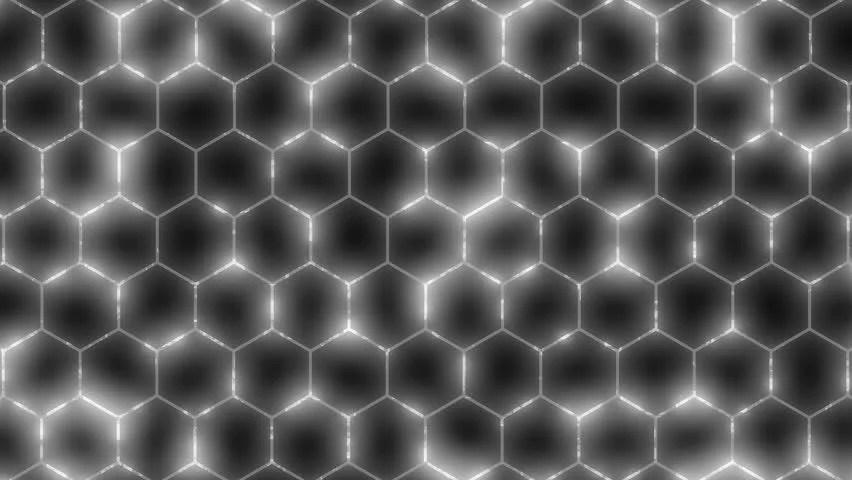 Hexagon Wallpaper 3d White Hexagon Background Wipe Diagonal High Tech 3d