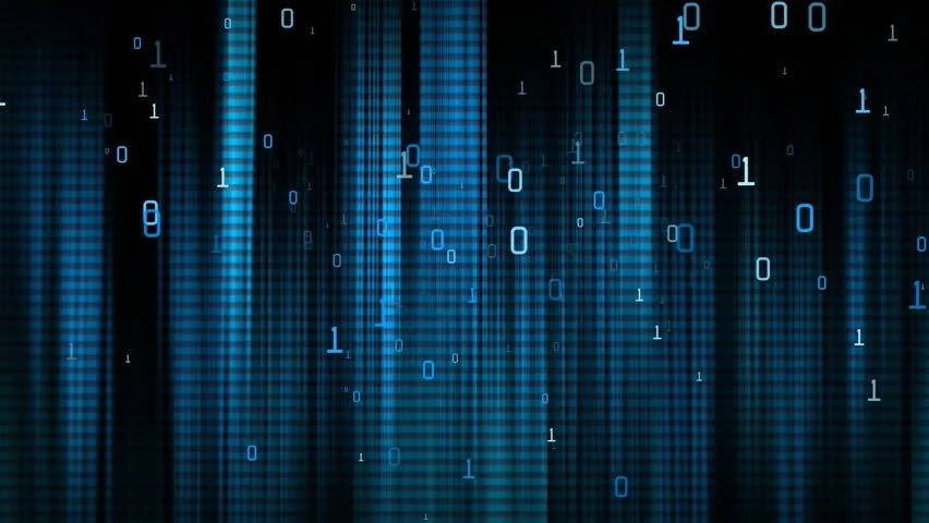 Data Code Digital Technology Stock Footage Video 1739680
