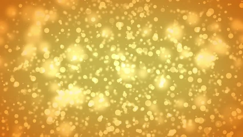 Falling Glitter Confetti Wallpapers Golden Particle Seamless Background Stock Footage Video