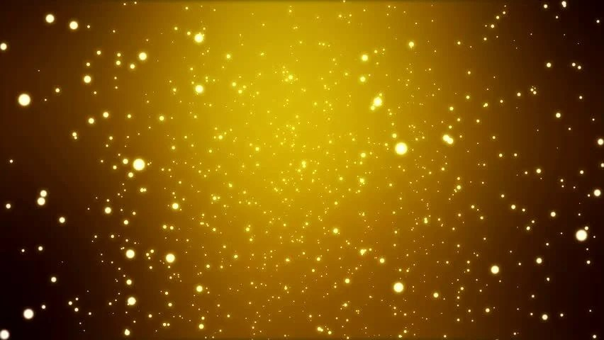 Falling Gold Sparkles Wallpaper Cg Hd Gold Sparkle Glitter Background Animation Stock