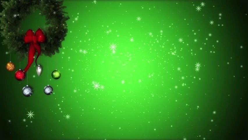 Christmas Greeting Card Loop Stock Footage Video 83386