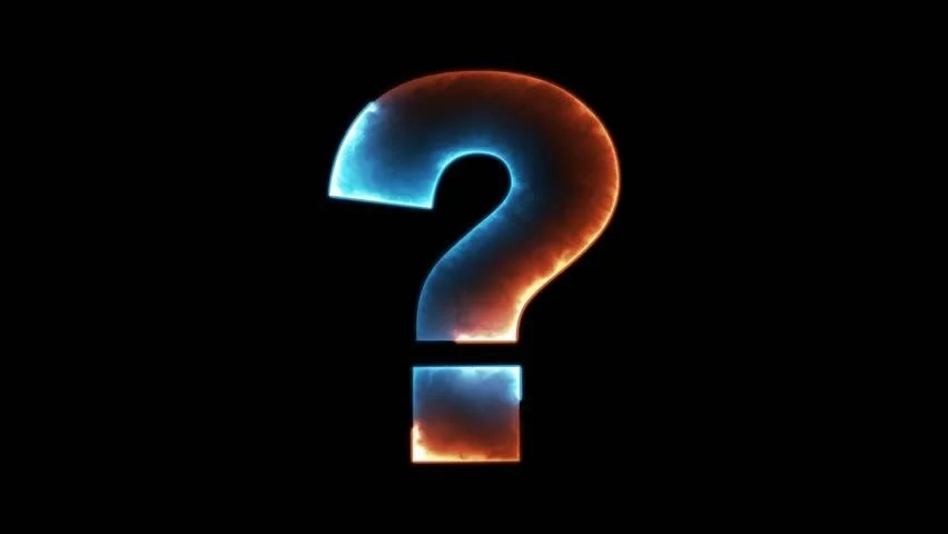 Question Mark Outline in Two Stock Footage Video (100% Royalty-free) 31023262   Shutterstock