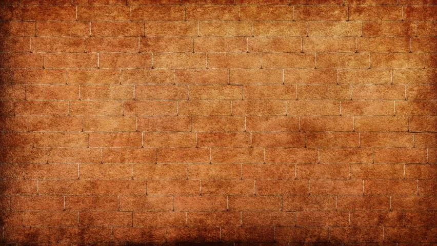 3d Fall Ceiling Wallpaper Crashing Grungy Red Brick Wall Background Hd Footage Stock