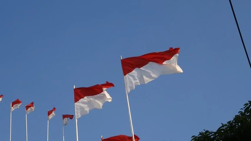 indonesian flag popular royalty
