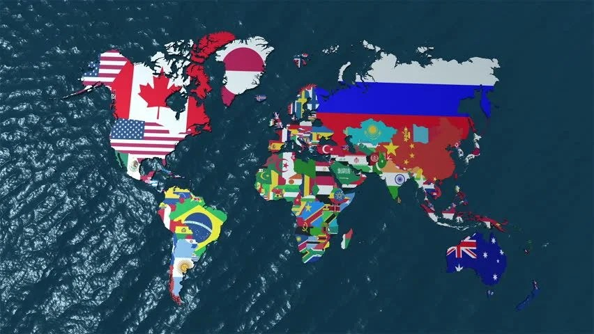 Awesome 3d Wallpapers Hd 3d World Map Pan Of Stock Footage Video 100 Royalty Free