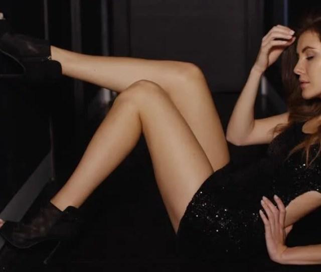 Sensual Girl Posing In Dark Stock Footage Video 100 Royalty Free 12471233 Shutterstock