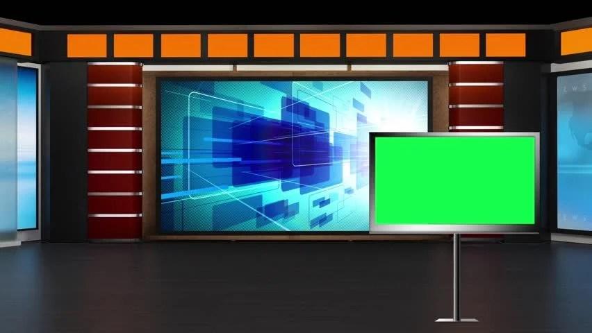 3d Motion Wallpapers For Desktop Free Download Stock Video Of News Tv Studio Set 17478043 Shutterstock