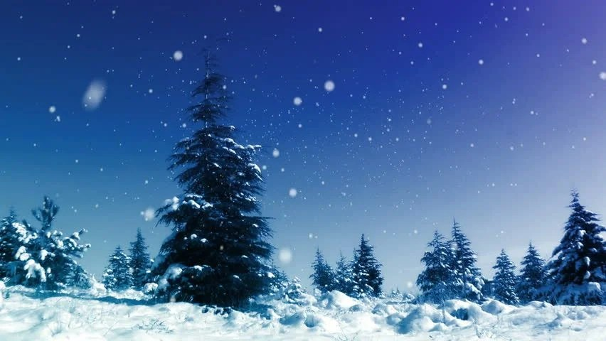 Falling Star Wallpaper Hd Seamless Animation White Snowy And Snow Winter Landscape