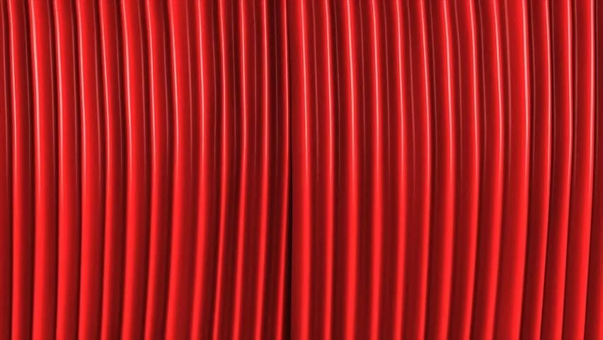 Animation Classic Theater Stage With Green Screen Hd Stock Footage