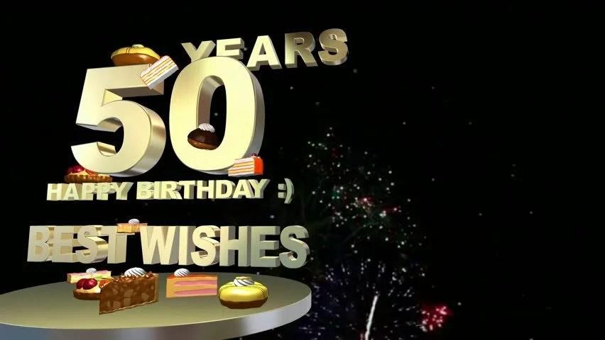 50 years celebration 50