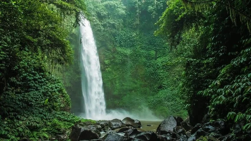 Free 3d Fall Wallpaper Waterfalls In Nature In Indonesia Image Free Stock Photo