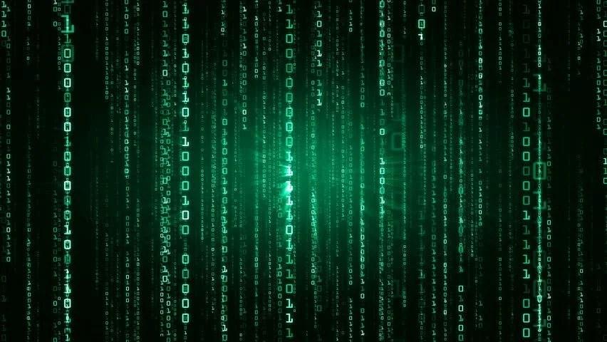 Matrix Falling Code Wallpaper Matrix Binary Code 4k Stock Footage Video 7942540