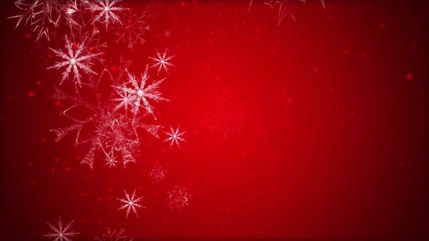3d Snow Falling Wallpaper Snowflakes Are Moving Across A Stock Footage Video 100
