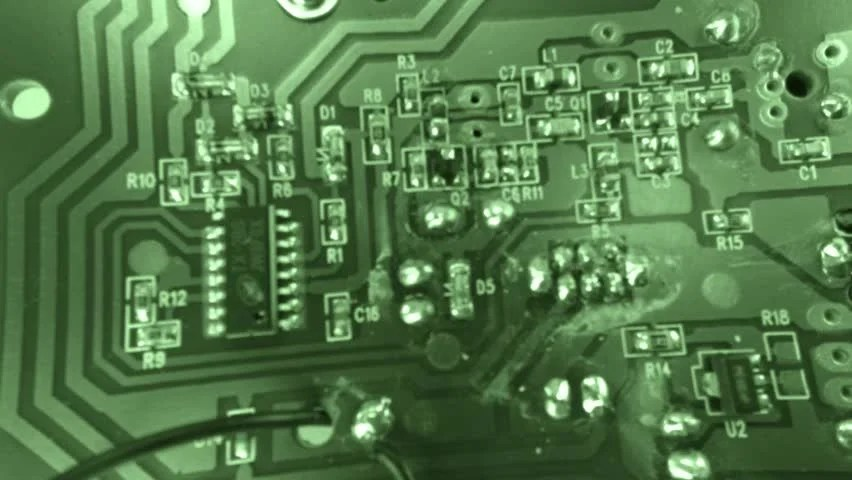 Green Computer Circuit Board Background Loop 2184700 Shutterstock