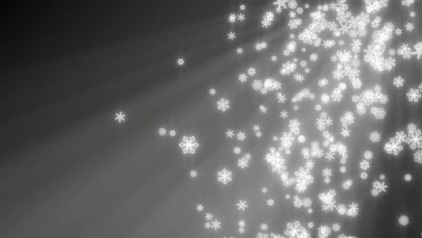 Snow Falling Wallpaper Hd Christmas Snowflakes Loop Aqua Blue Version Holiday