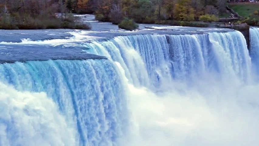 Niagara Falls Waterfall Wallpaper Stock Video Clip Of Niagara Falls Waterfall Shutterstock