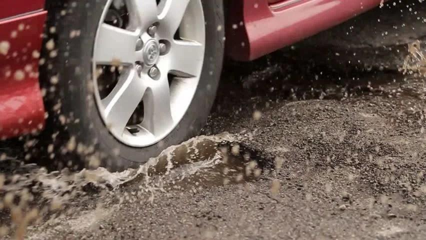 Image result for car potholes