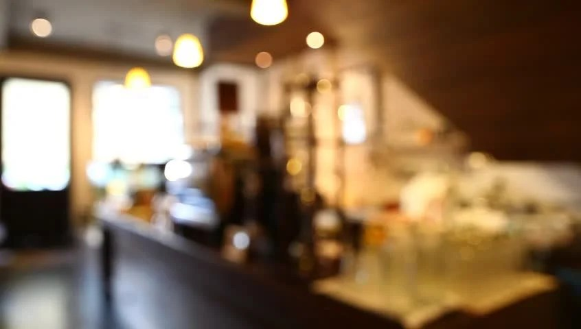Playing In The Fall Wallpaper Blurred Background Of Coffee Shop Stock Footage Video 100