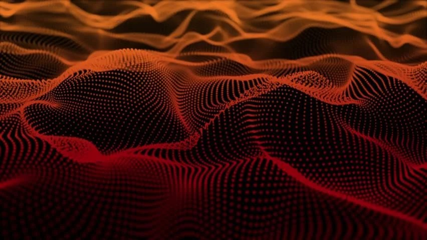 Equalizer Wallpaper Hd 4k Club Music Particles Field Dance Motion Background Red