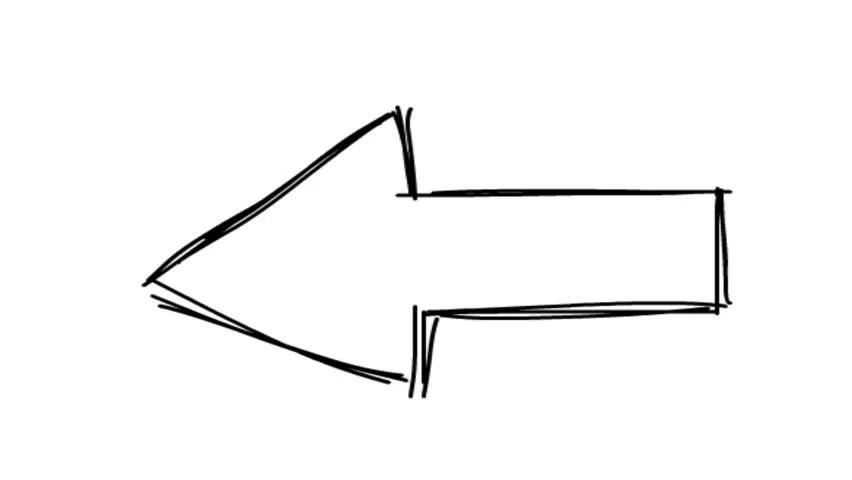 Cartoon Arrow Sign. Arrow Symbol. Stock Footage Video (100